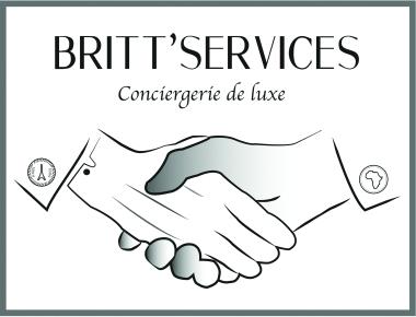 Britt Services Logo luxury Marine-Océane Vinot